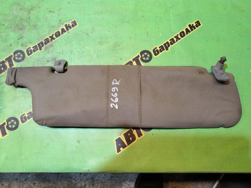 Козырек солнцезащитный Mitsubishi Delica L039 4D56 правый