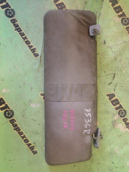 Козырек солнцезащитный Isuzu Elf NKR66E 4HF1