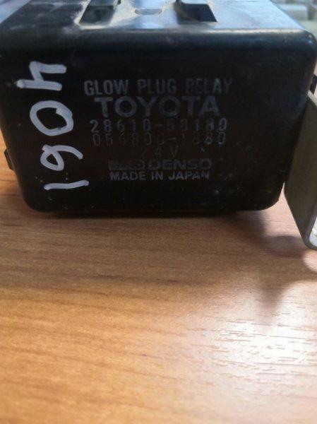Реле накала Toyota Dyna BU100