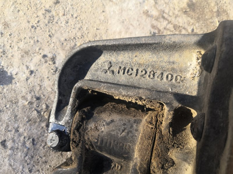 Кронштейн рессоры Mitsubishi Canter FE83 4M50 задний
