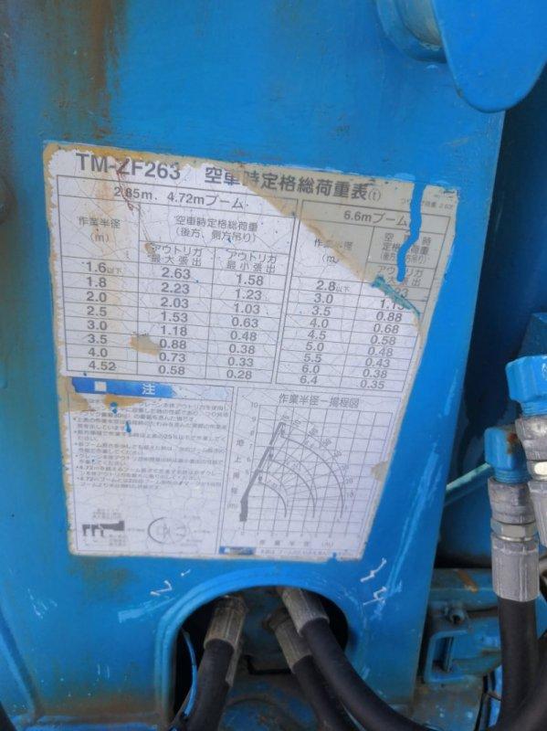 Крановая установка Mitsubishi Canter FE638