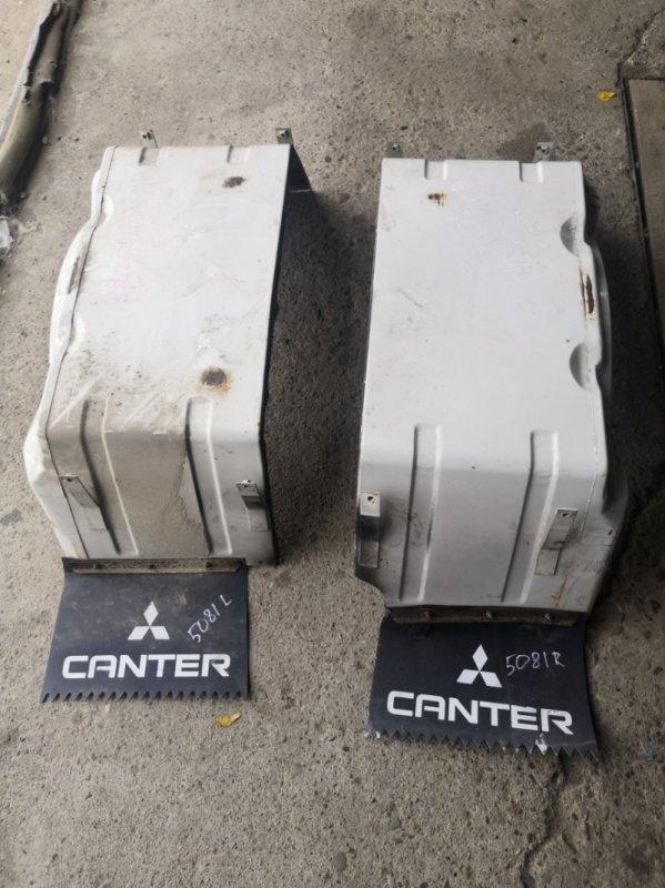 Брызговики комплект Mitsubishi Canter FB300 4DR5 задние