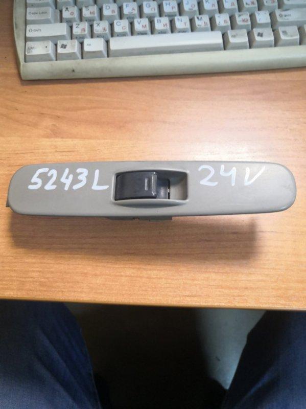 Кнопка стеклоподьемника Hino Dutro XZU344 N04C 2003 передняя левая