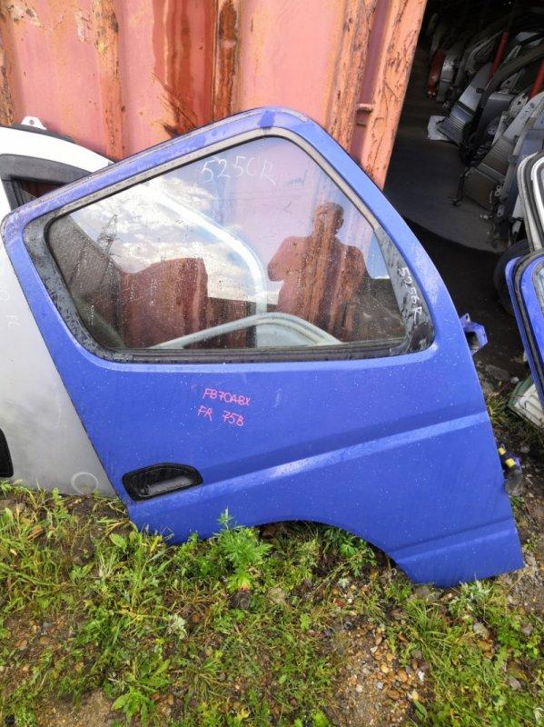 Дверь Mitsubishi Canter FB70 4M40 2002 передняя правая