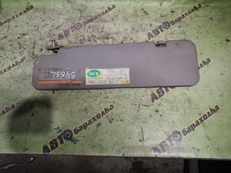Козырек солнцезащитный Hino Dutro XZU344 N04C 2003 правый
