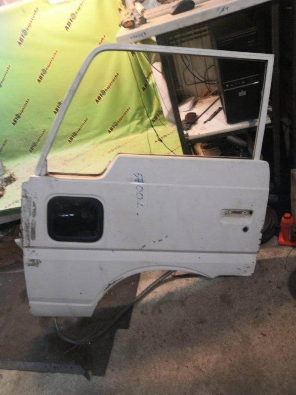 Дверь Nissan Atlas F22 передняя левая