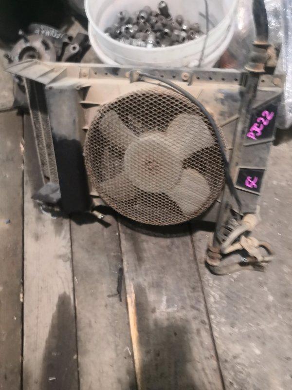 Радиатор кондиционера Nissan Vanette PJC22-012928 A15(S) 1990