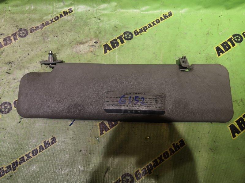 Козырек солнцезащитный Hino Dutro XZU368 N04C правый
