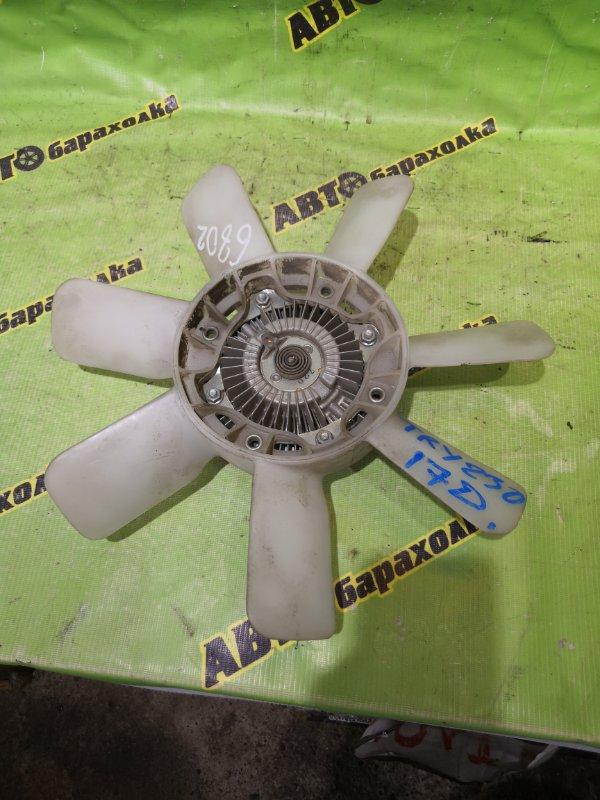 Вентилятор с вязкостной муфтой Toyota Dyna TRY230 1TR 2017