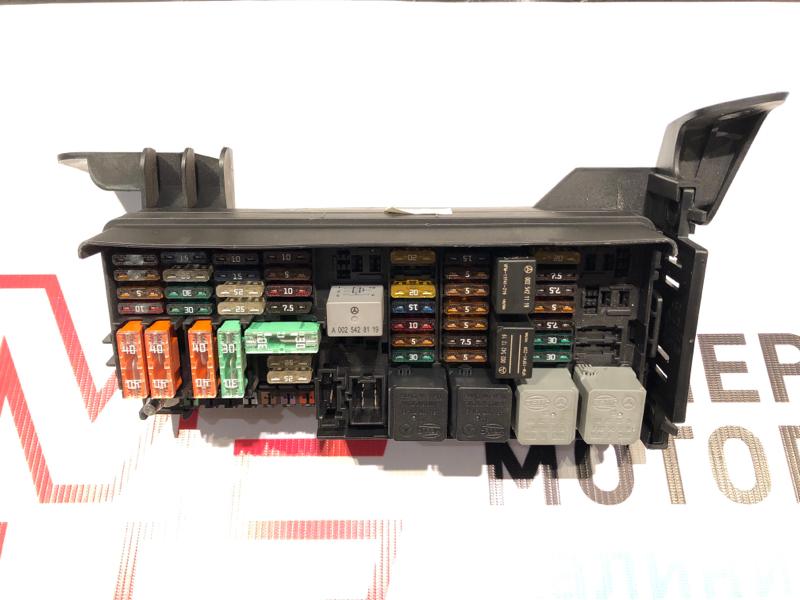 Блок предохранителей Mercedes M-Class W164 642.820 2011 задний