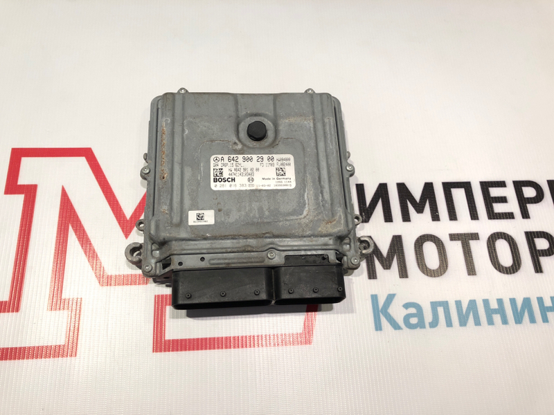 Блок управления двигателем Mercedes M-Class W164 642.820 2011