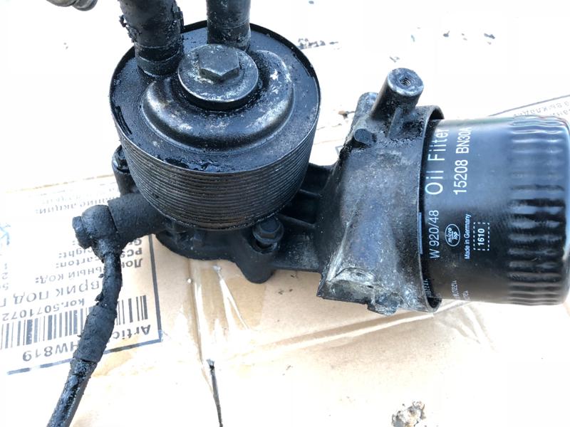 Кронштейн масляного фильтра Nissan Navara D40 YD25DDTI 2008