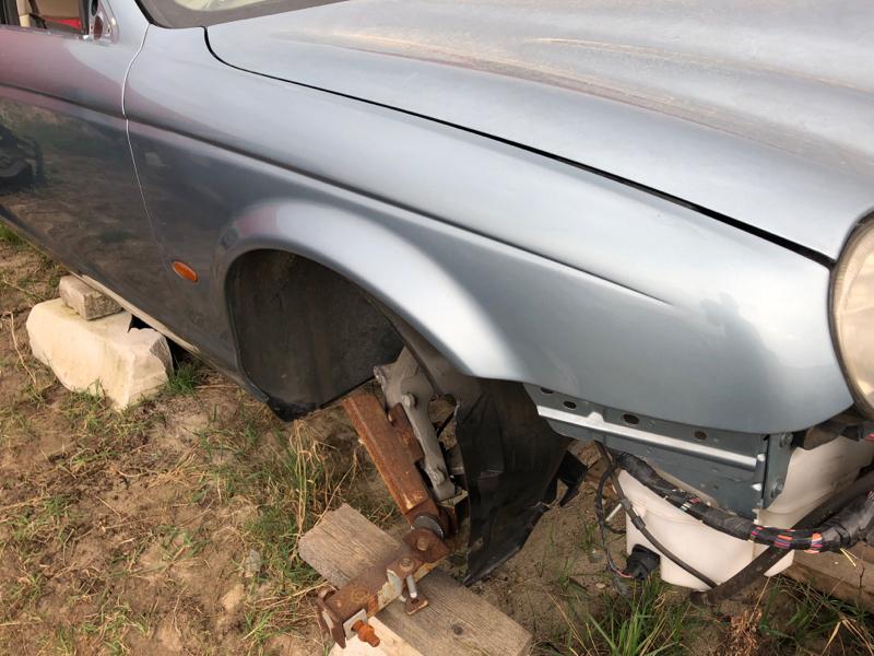 Крыло Jaguar S-Type 4.2 2002 переднее правое