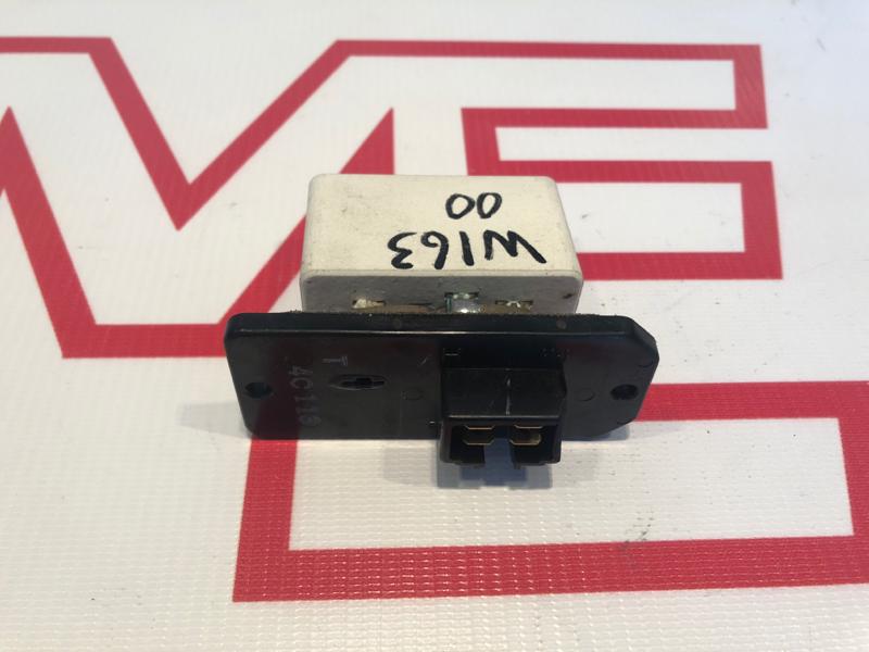 Резистор печки Mercedes M-Class W163 612.963 2000
