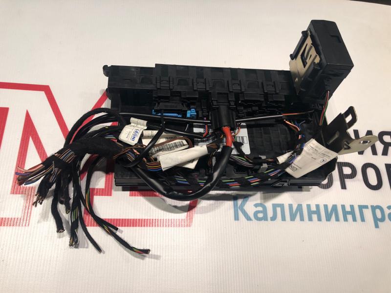 Блок управления sam Mercedes Clk-Class W209 C209 112.955 2004 задний