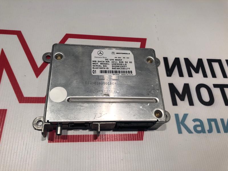 Блок управления телефоном Mercedes Clk-Class W209 C209 112.955 2004