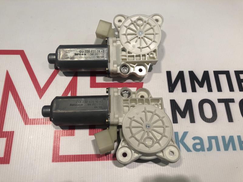Моторчик стеклоподъемника Mercedes Clk-Class W209 C209 112.955 2004 передний
