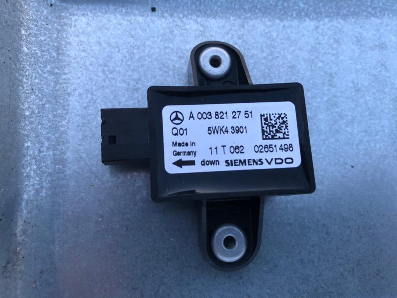 Датчик удара srs airbag Mercedes M-Class W164 642.820 2011
