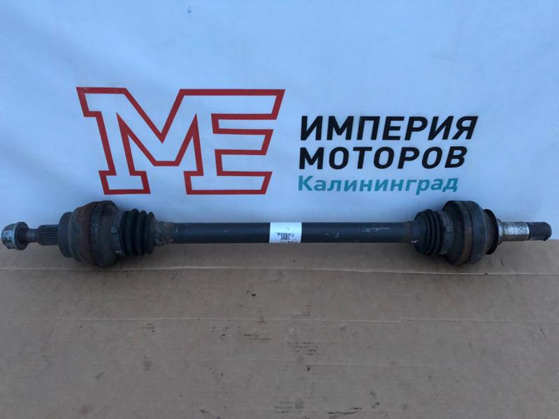 Привод Mercedes M-Class W164 642.820 2011 задний