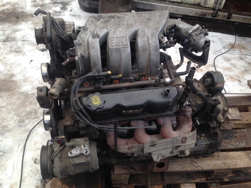 Двигатель Dodge Grand Caravan 3.8 L EGH V6 1999