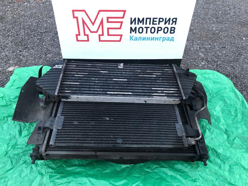 Радиатор кондиционера Mercedes M-Class W163 612.963 2000