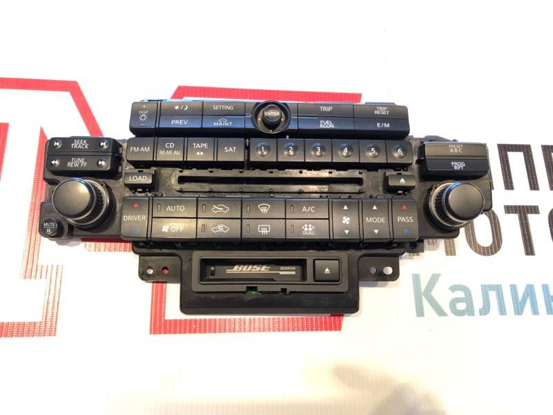 Блок управления климат-контролем Infiniti Fx35 Fx 35 S50 VQ35DE VQ35 2005
