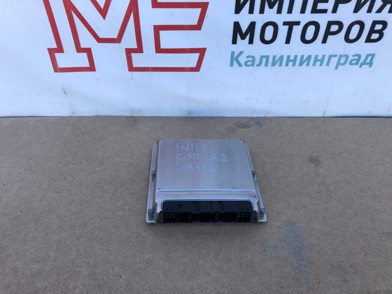 Блок управления двигателем Mercedes M-Class W163 112.942 2003