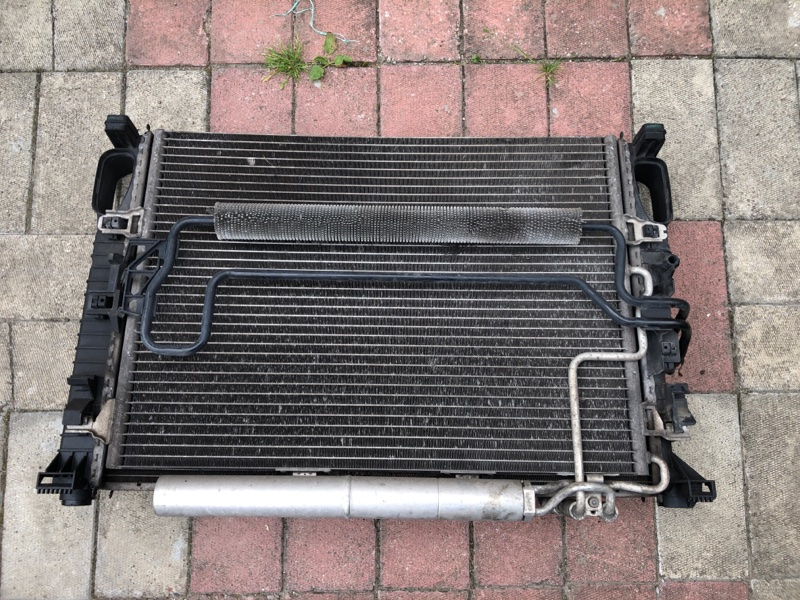 Радиатор кондиционера Mercedes Cls-Class W219 C219 272.964 2005