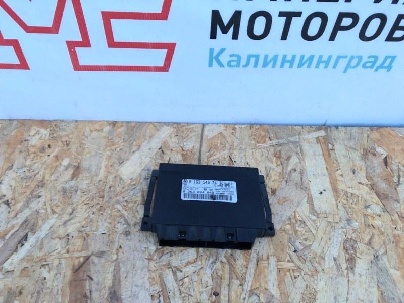 Блок управления парктрониками Mercedes M-Class W163 112.942 2003