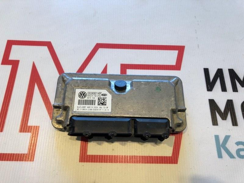 Блок управления двигателем Skoda Rapid CFN 2015