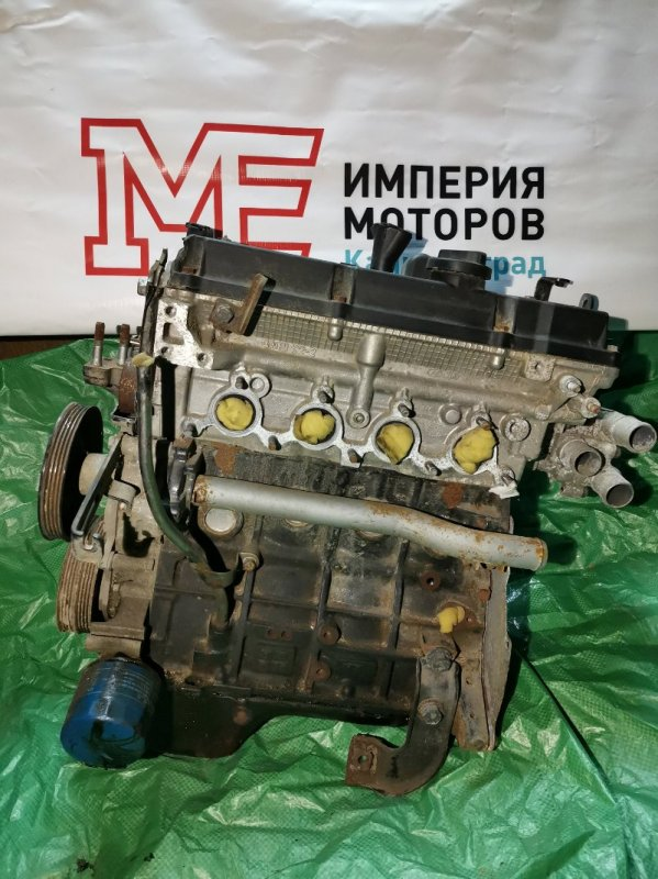 Двигатель Kia Rio 2 ХЭТЧБЕК G4EE 2010