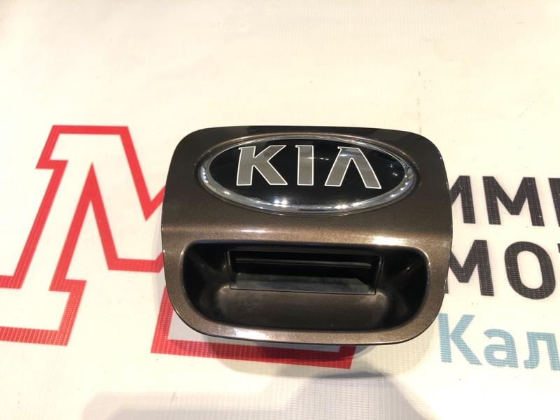Ручка двери багажника внешняя Kia Rio 3 ХЭТЧБЕК G4FA 2014