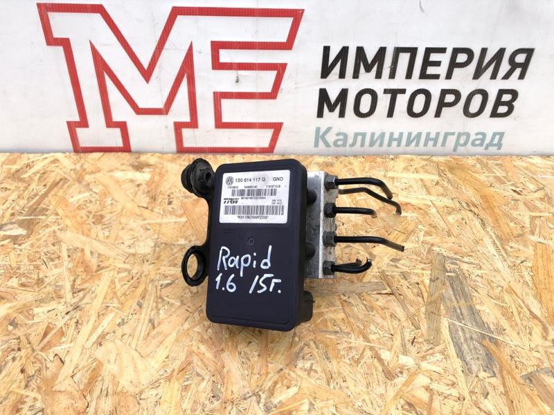 Блок abs Skoda Rapid CFN 2015