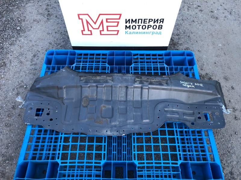 Панель задняя Hyundai Solaris СЕДАН G4FC 2012