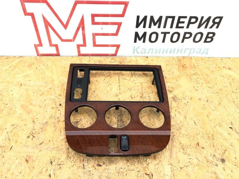 Рамка магнитолы Mercedes M-Class W163 612.963 2004