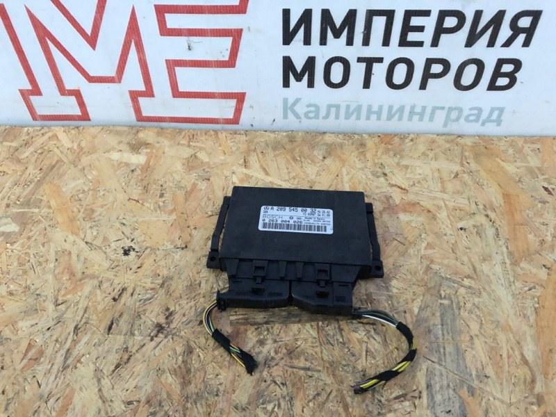 Блок управления парктрониками Mercedes Clk-Class W209 C209 112.955 2003