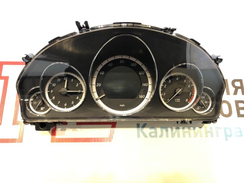 Щиток приборов Mercedes E-Class W207 273.966 2010