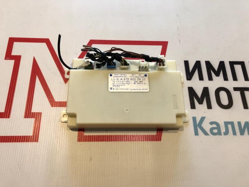 Блок управления keyless go Mercedes E-Class W207 273.966 2010