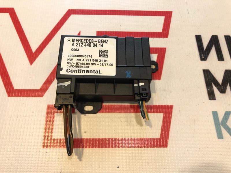 Блок управления топливным насосом Mercedes E-Class W207 273.966 2010