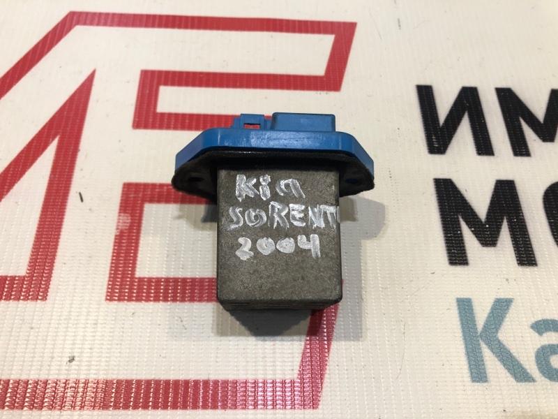 Резистор печки Kia Sorento I JC 2002-2010 2.5 D4CB 140ЛС 2004
