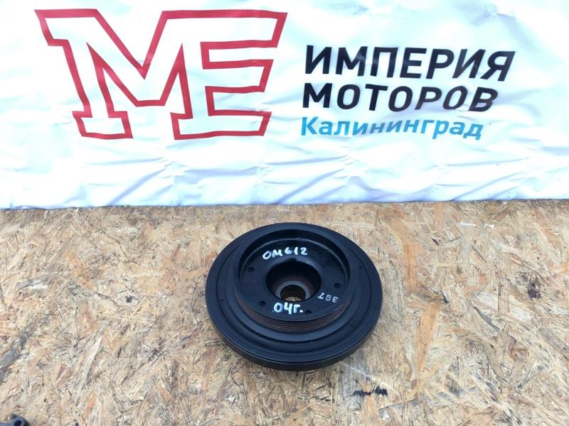Шкив коленвала Mercedes M-Class W163 612.963 2004
