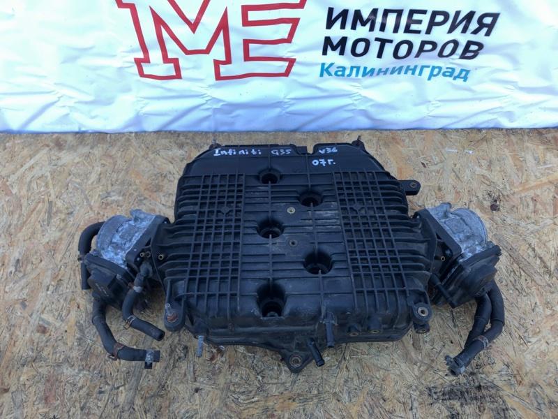 Дросельная заслонка Infiniti G35 G35X G35Xs V36 VQ35HR 2007