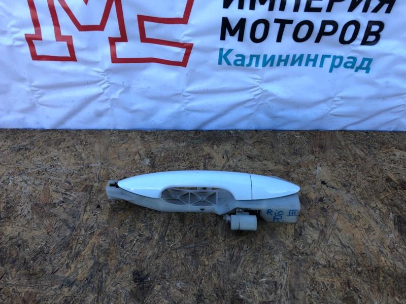 Ручка двери внешняя Kia Rio 3 СЕДАН G4FA 2015 правая