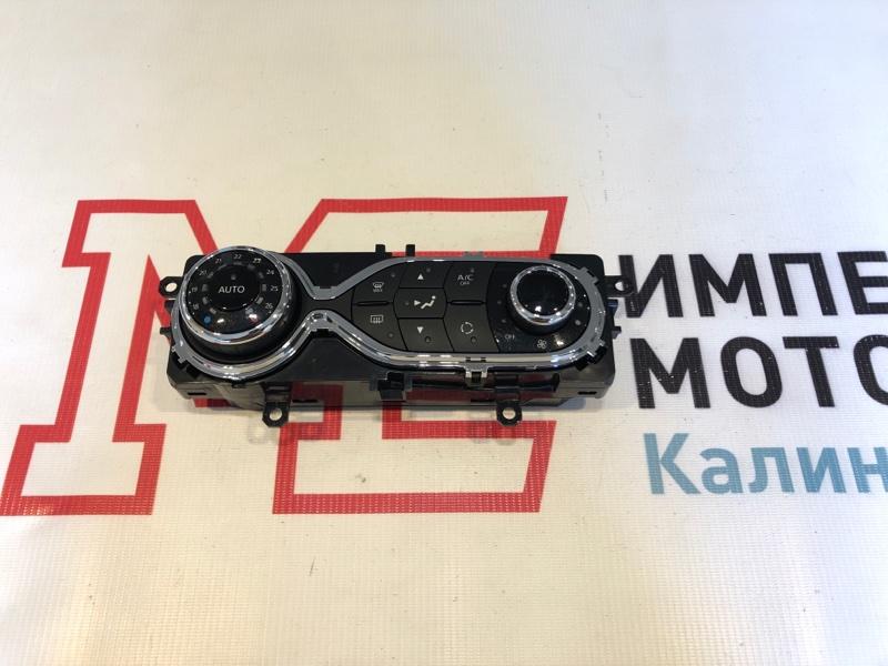 Блок управления климат-контролем Renault Kaptur H5 2.0 F4R410 2017