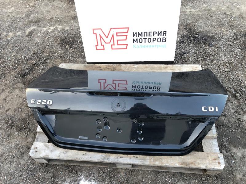 Крышка багажника Mercedes E-Class W211 646.961 2004 задняя