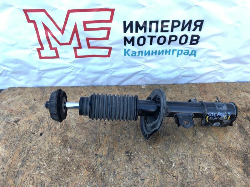 Амортизатор Kia Rio 3 ХЭТЧБЕК G4FA 2014 передний правый