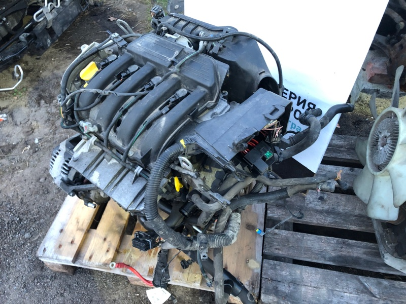 Двигатель Renault Duster K4MA690 2014