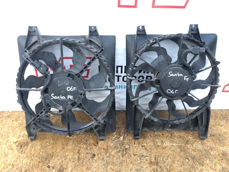 Вентилятор охлаждения радиатора Hyundai Santa Fe II 2.2 D4EB 2006