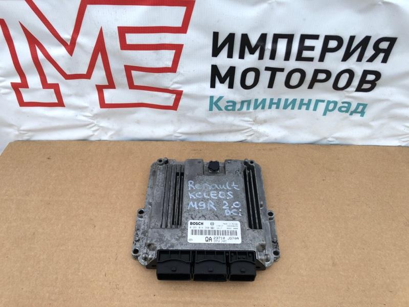 Блок управления двигателем Renault Koleos HY0 2.0 DCI M9R835 2011