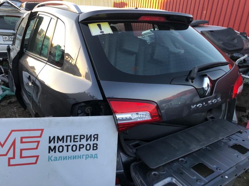 Крышка багажника Renault Koleos HY0 2.0 DCI M9R835 2011